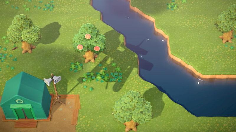 飛行機から見下ろした無人島